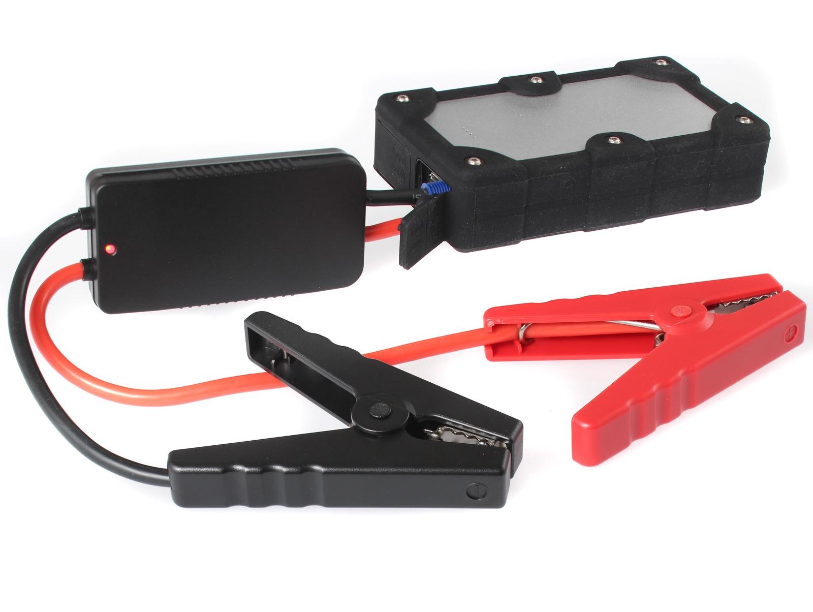 Портативное пусковое устройство автомобиля iBatt iB-S931B. JumpStarter - PowerBank с интеллектуальными силовыми проводами. аккумулятор для автомобиля выбрать