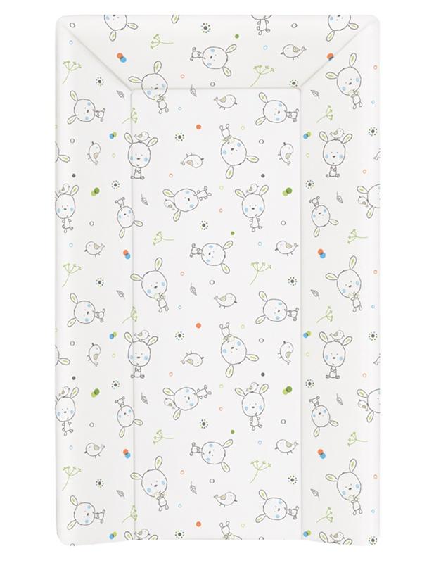 накладки для пеленания ceba baby накладка для пеленания с изголовьем 50х80 Матрац пеленальный Ceba Baby 70 см мягкий с изголовьем Dream Roll-over white W-103-903-100