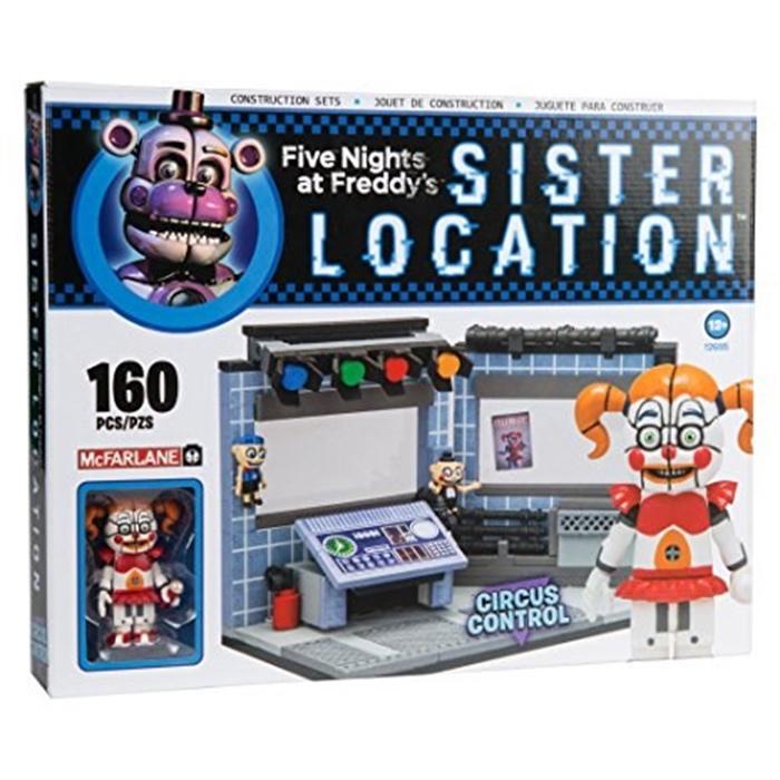Конструктор Лего FNAF Circus Control (160 деталей)