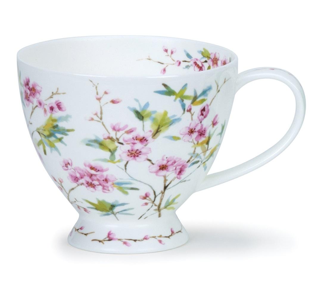 Фото - Чашка чайная Dunoon Цветение сакуры чашка чайная gutenberg цветение сливы мейхуа 200009 разноцветный 100 мл
