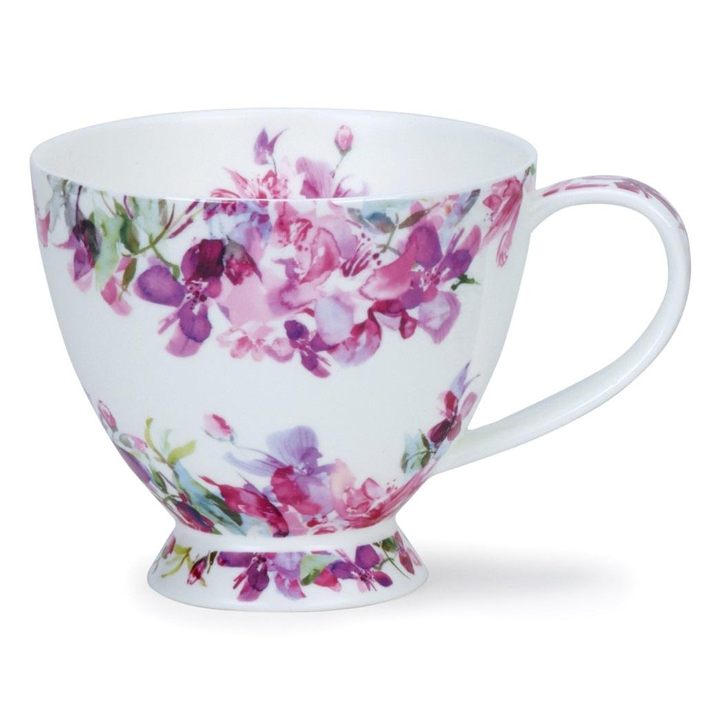 Чашка чайная Dunoon Розовые цветы