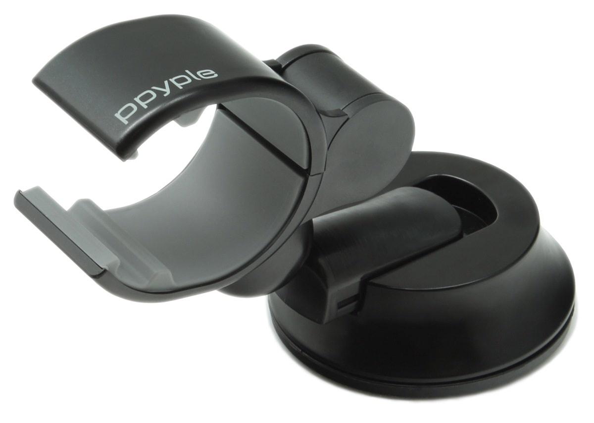 автомобильный держатель Ppyple Dash-Clip F5 black цена