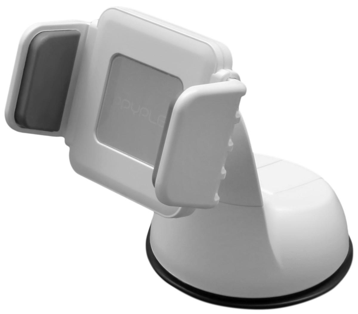 автомобильный держатель для смартфона Ppyple Dash-R5 white