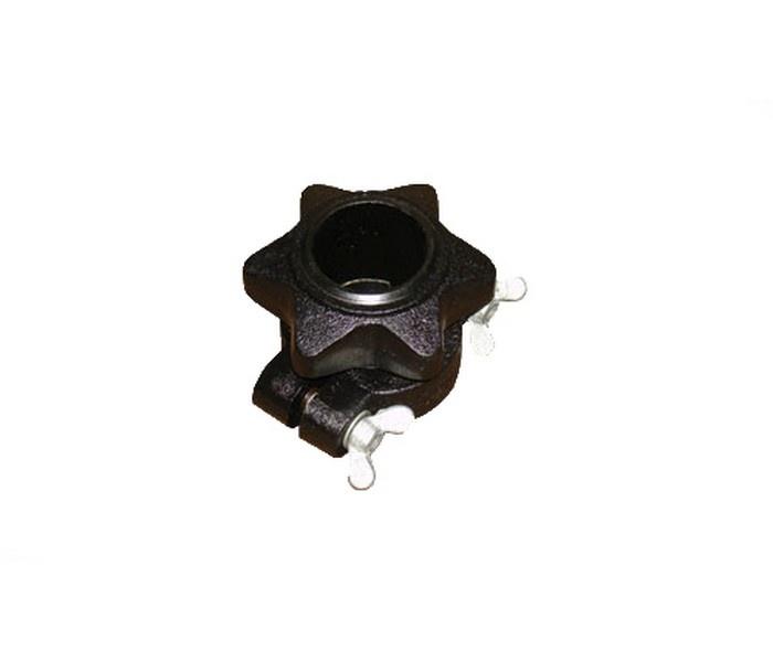 Замок для олимпийского грифа Oxygen OC/OCXC (black) замок пружина для олимпийского грифа indigo in043 00027652 серебристый диаметр 50 мм