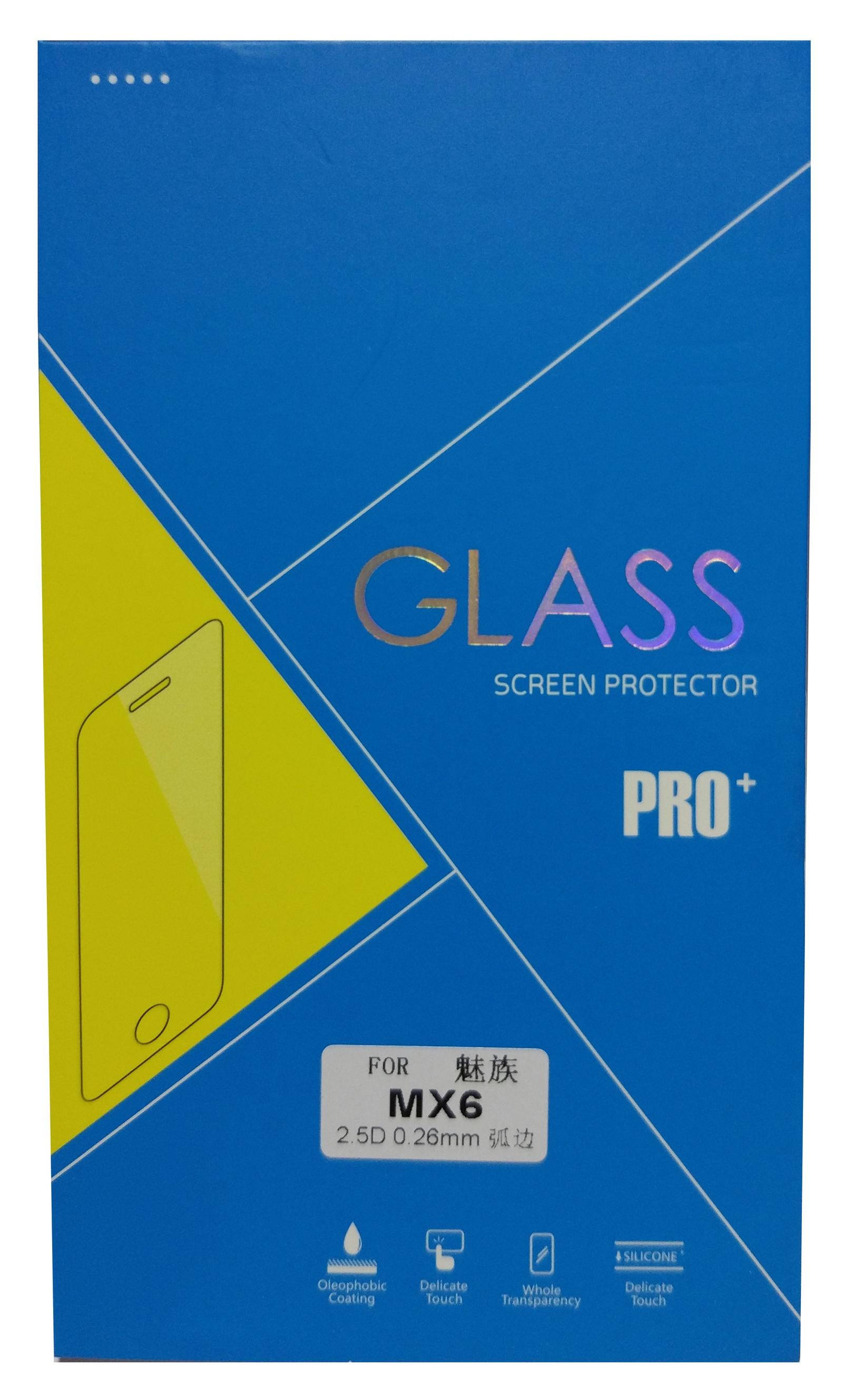 Защитное стекло для Meizu MX6 escach meizu mx6 телефон чехол meizu mx6 защитная оболочка анти борьба гарнитуры meizu телефон раковина жесткая оболочка джентльмен черный