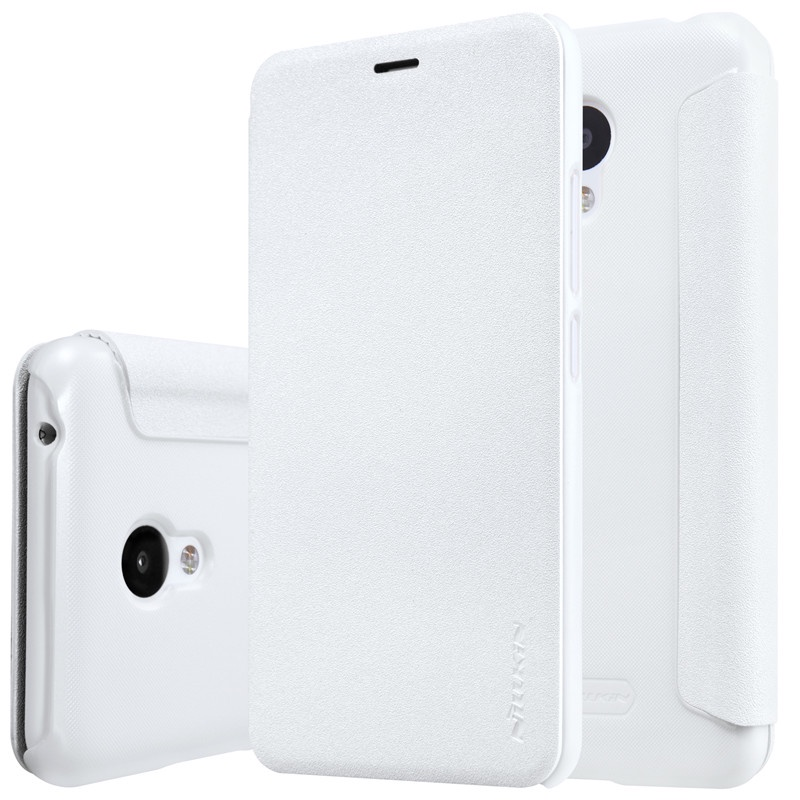 Чехол-книжка Nillkin для Meizu M3 / M3 mini (белый) аккумулятор для телефона ibatt bt68 для meizu m3 mini m688c m3