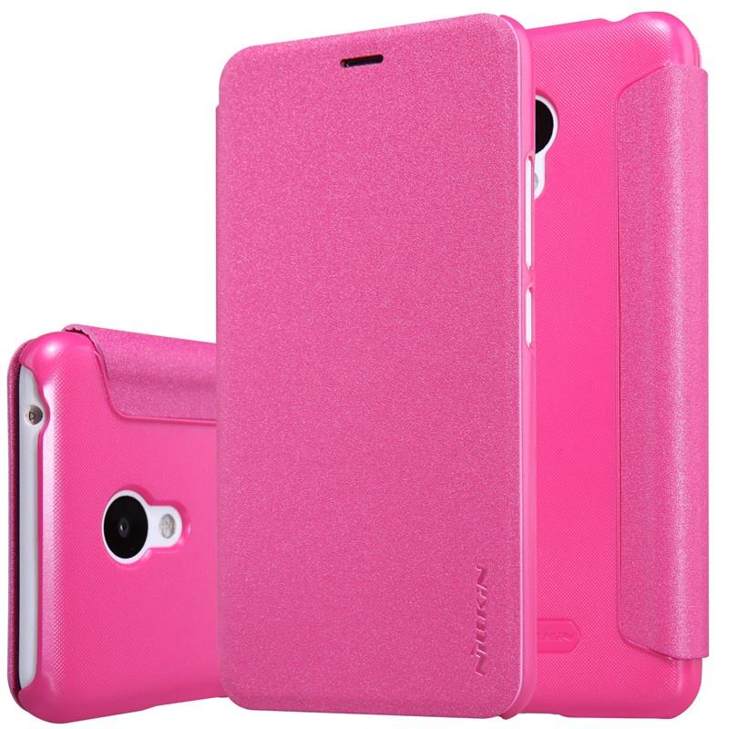 Чехол-книжка Nillkin для Meizu M3 / M3 mini (розовый) аккумулятор для телефона ibatt bt68 для meizu m3 mini m688c m3