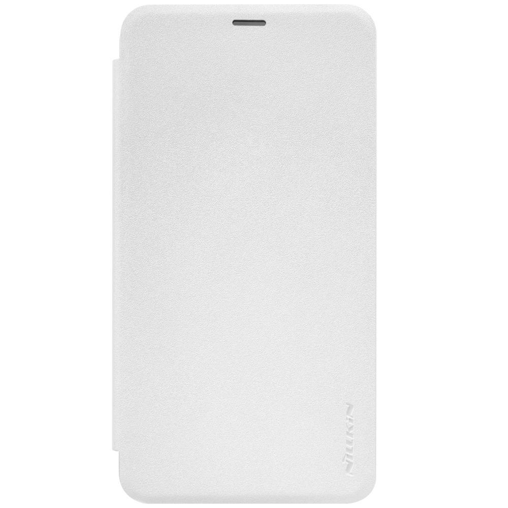 Чехол-книжка nillkin для Meizu Metal (белый) nillkin meizu pro7 матовый телефон защитная крышка чехол чехол для мобильного телефона черный