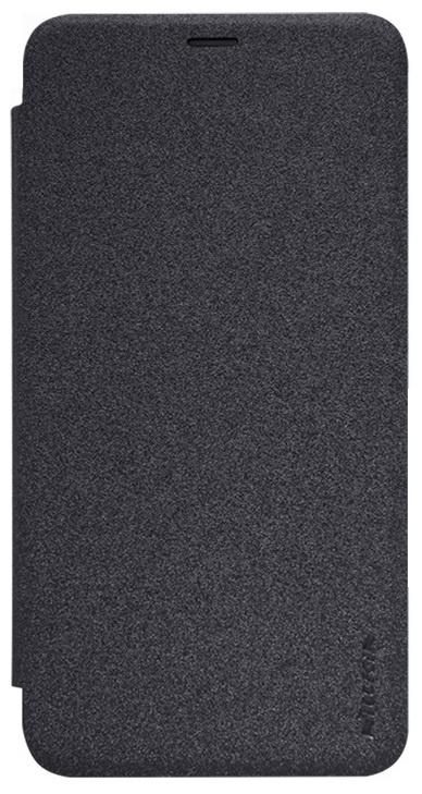 Чехол-книжка NILLKIN для Meizu PRO 5 (черный) nillkin meizu pro7 матовый телефон защитная крышка чехол чехол для мобильного телефона черный