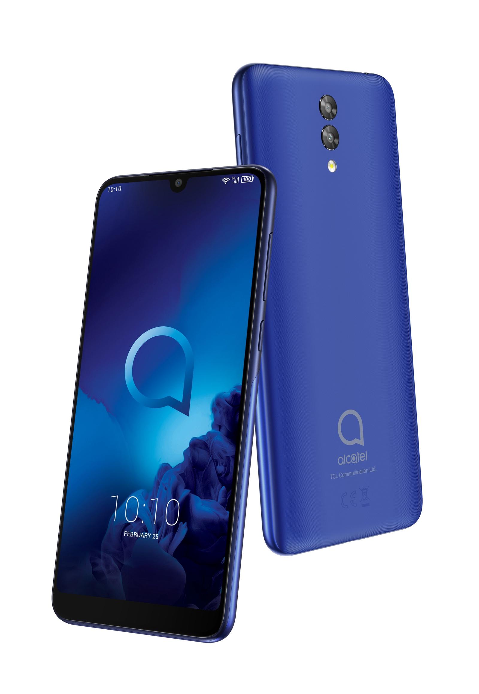 Смартфон Alcatel 3L16GB, синий
