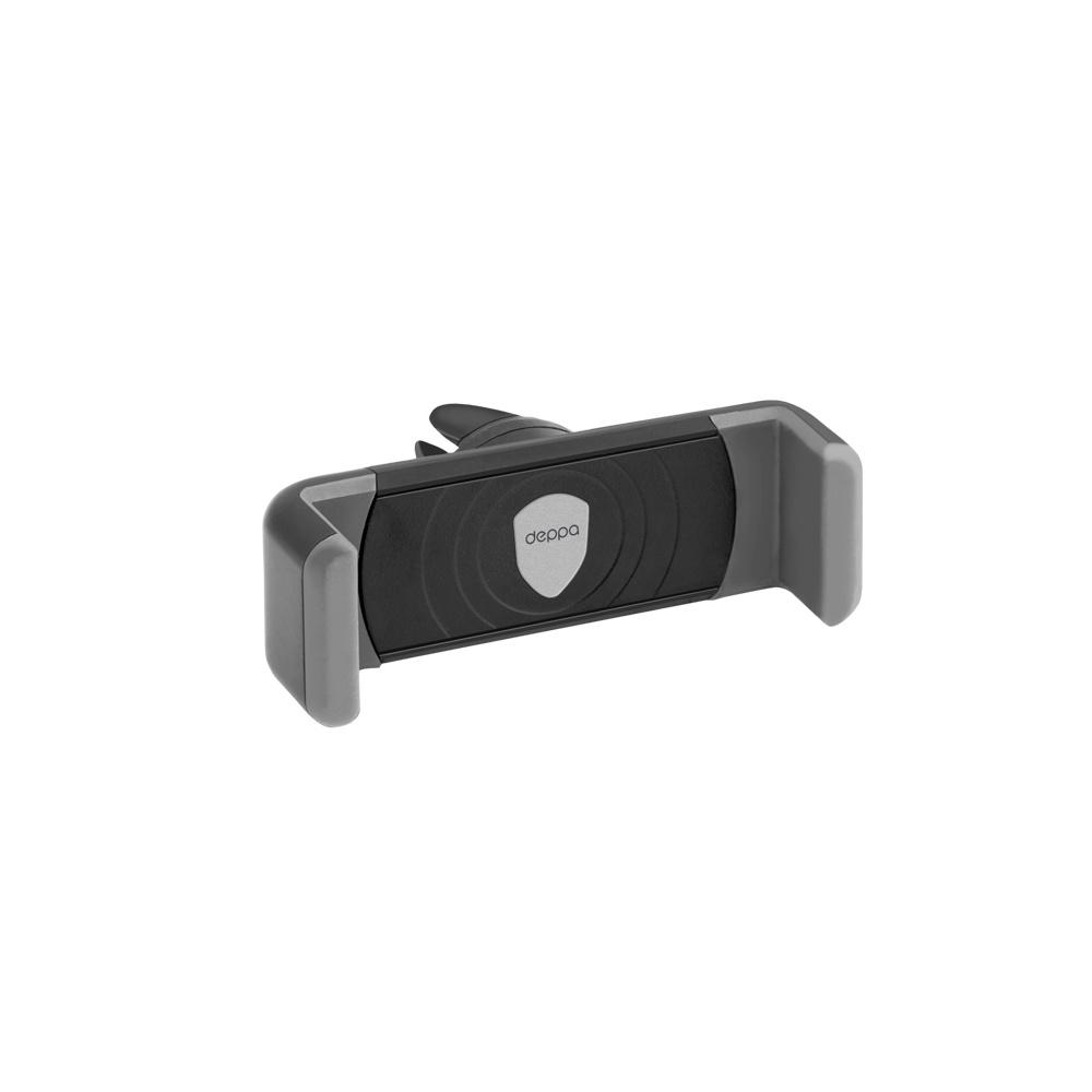 Автомобильный держатель Crab Air mini для смартфонов 3.5-5, крепление на вентиляционную решетку, Deppa deppa crab 3 автомобильный держатель для смартфонов 3 5 6 5
