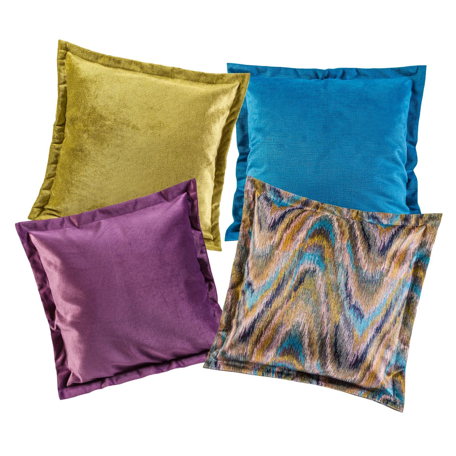Комплект чехлов для подушек ALINA WAVE MUSTARD