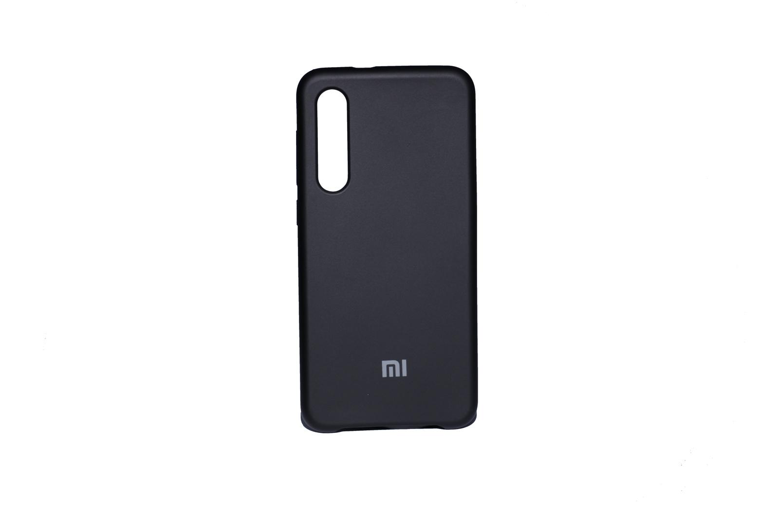 Чехол Silicone cover Xiaomi Mi 9 SE черный