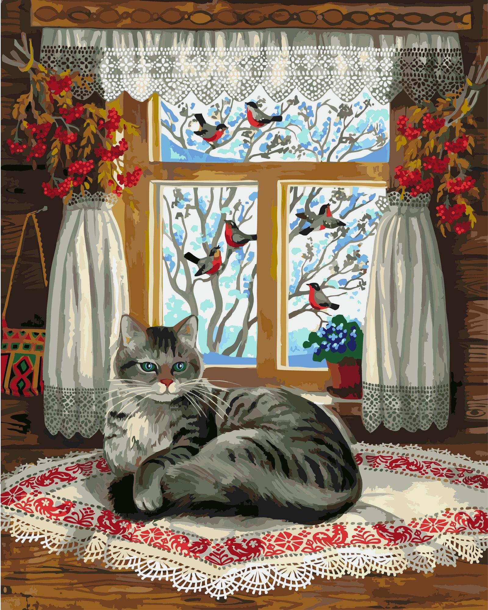 Любочка добрым, открытки зимние окна