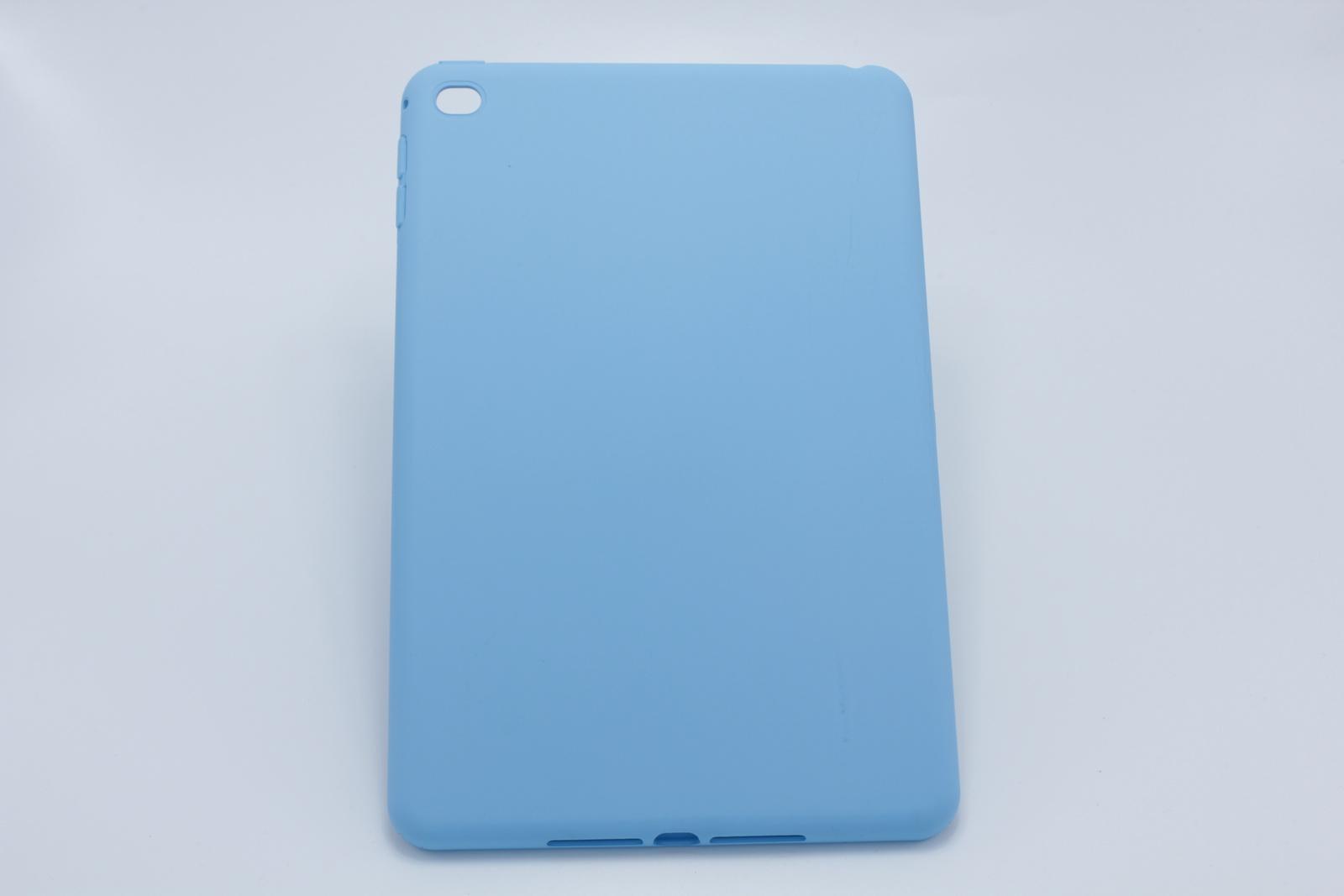Фото - Чехол силиконовый для Apple iPad mini 4 голубого цвета чехол innerexile zamothrace z design smart для ipad mini black sc m1 01