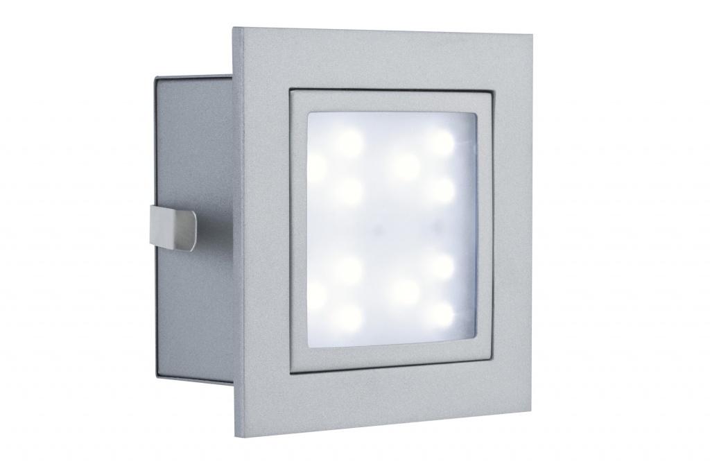Встраиваемый светильник Paulmann 99497 встраиваемый светодиодный светильник paulmann profi window 99497