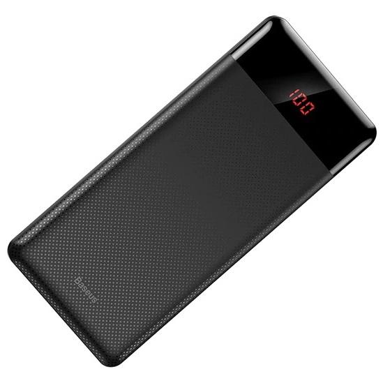 Внешний аккумулятор 10000мАч Baseus Mini CU - Черный (PPALL-AKU01) цена