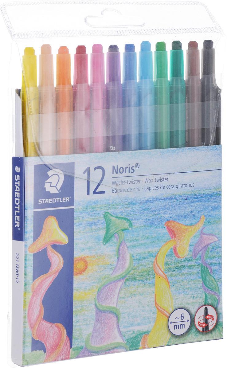 Staedtler Мелок восковой Noris Club 12 цветов 221NWP12