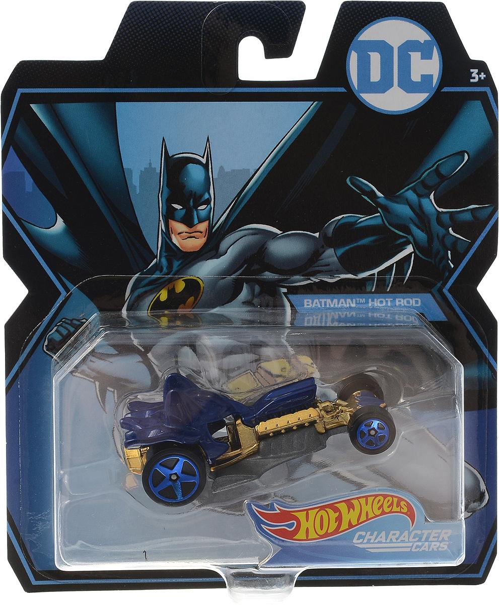 Hot Wheels DC Batman Hot Rod цвет синий желтый