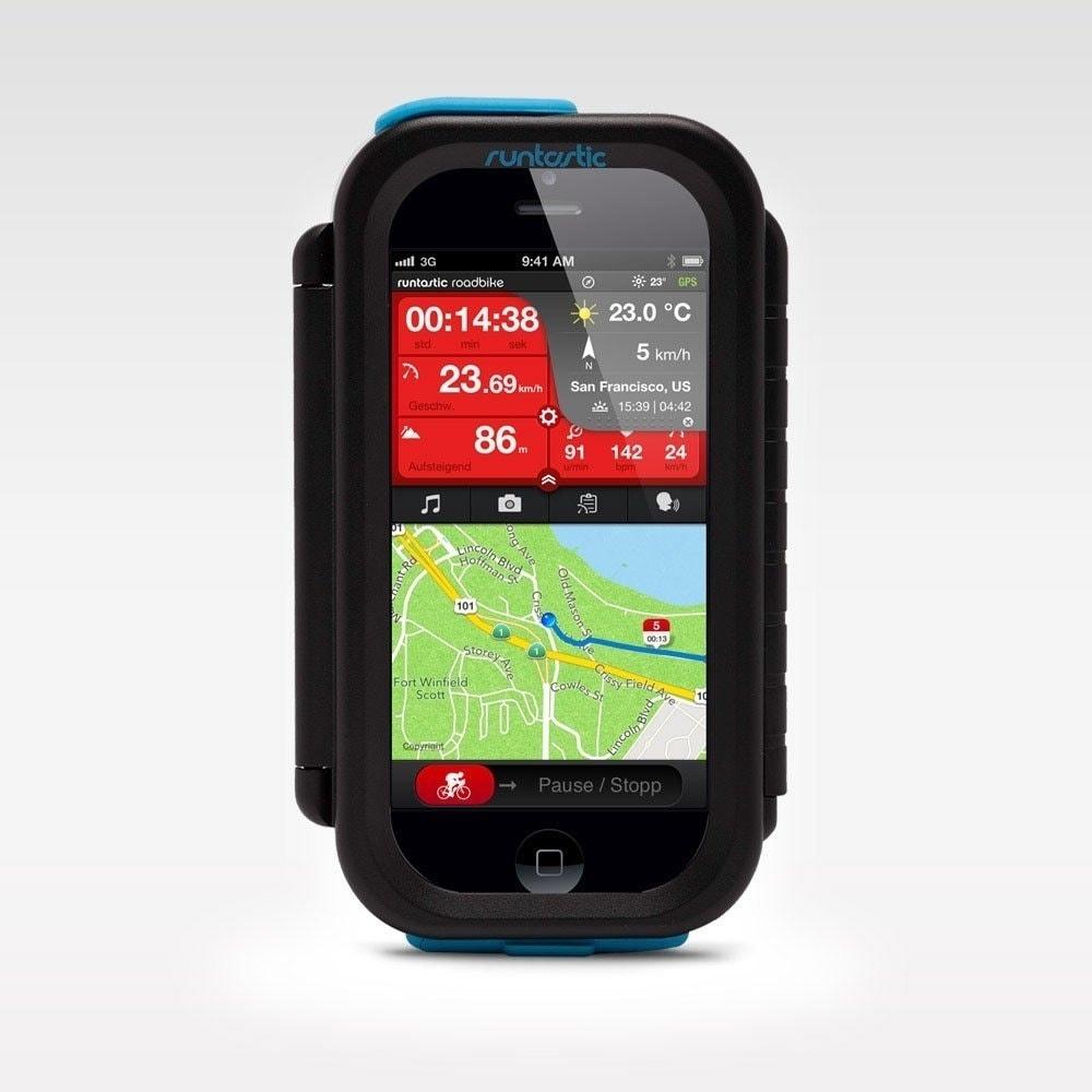 Универсальный чехол-держатель на руль велосипеда Runtastic Case для смартфонов Android Runtastic