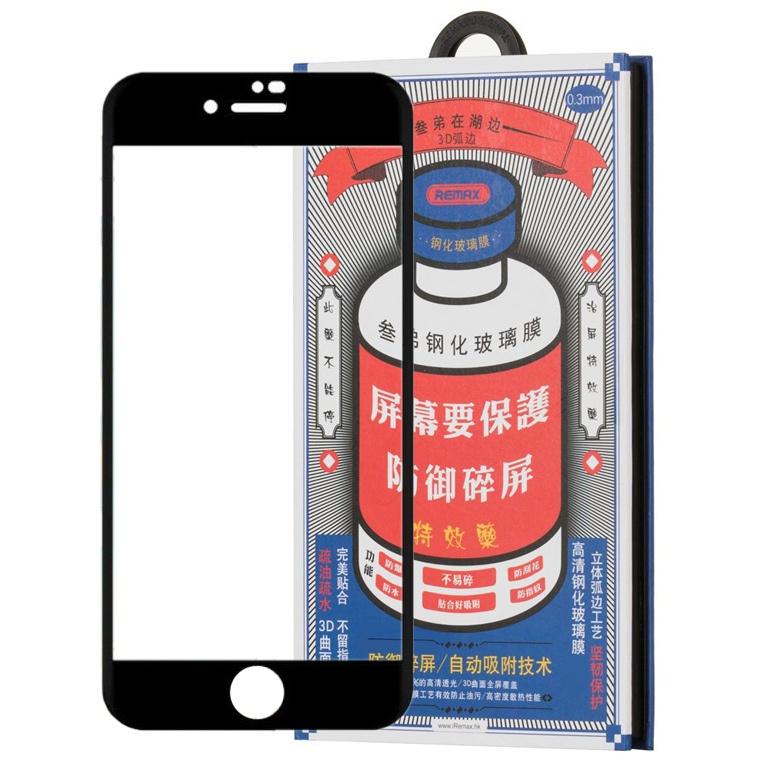 Защитное стекло для iPhone 7/8 3D Remax Medicine Glass GL-27 - Черное