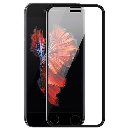 Защитное стекло для iPhone 6 Plus/6S Plus/7 Plus/8 Plus Hoco Narrow Edges 3D - Черное электровыбивалка krausen plus
