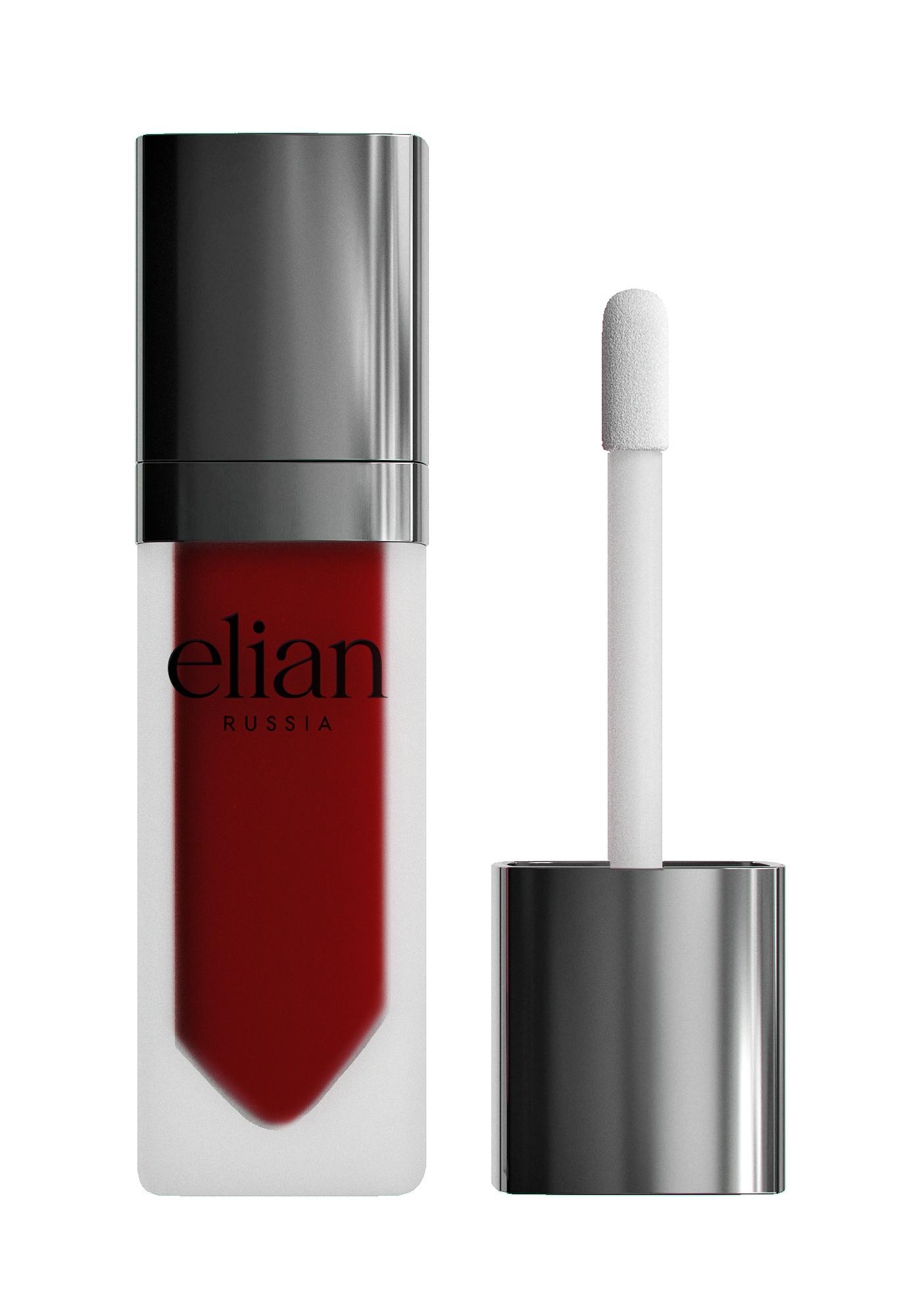 Жидкая матовая помада Superior matte liquid lipstick 612 Requiem ELIAN RUSSIA цена