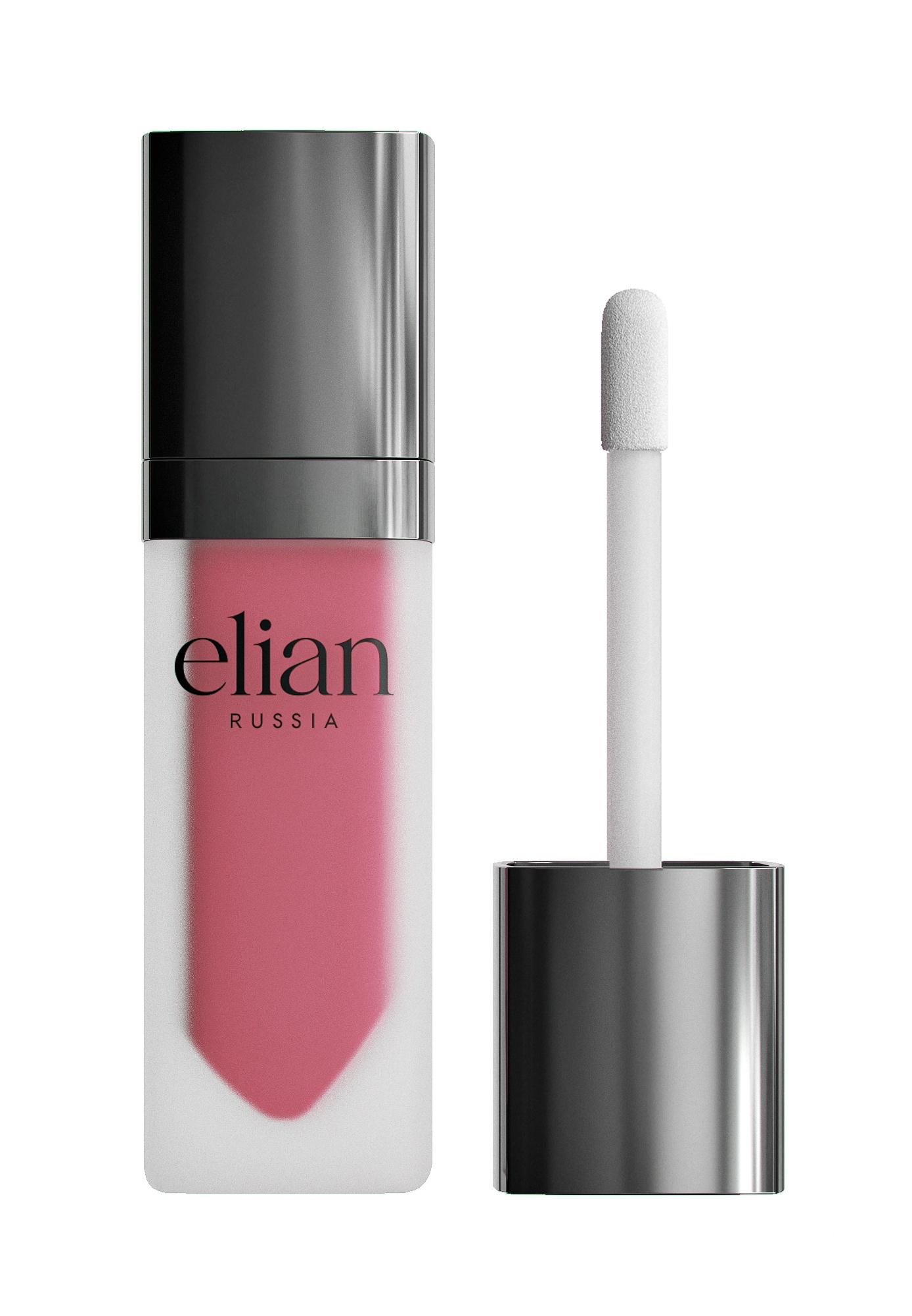 Жидкая матовая помада Superior matte liquid lipstick 509 Firebird ELIAN RUSSIA цена