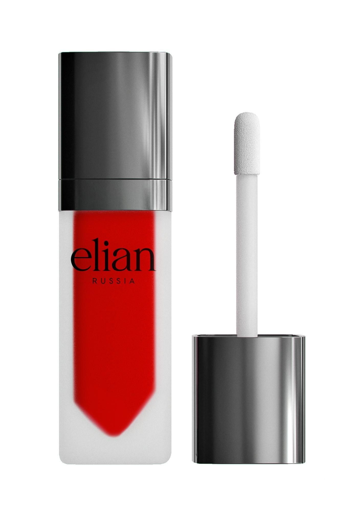 Жидкая матовая помада Superior matte liquid lipstick 608 Cherry Orchad ELIAN RUSSIA