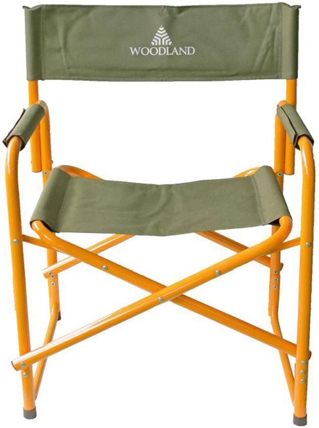 Кресло складное Woodland Camper Alu, кемпинговое, 80 x 60 x 46 см кресло складное norfin risor nf alu цвет серый зеленый 47 см х 42 см х 80 см