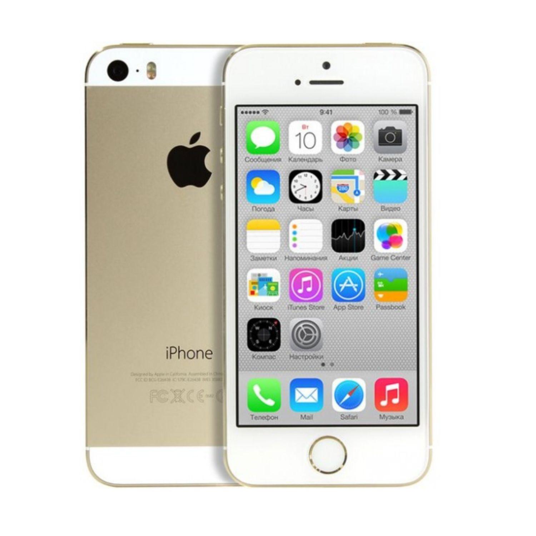 Смартфон Apple iPhone 5s 16GB, Gold (восстановленный)16GB
