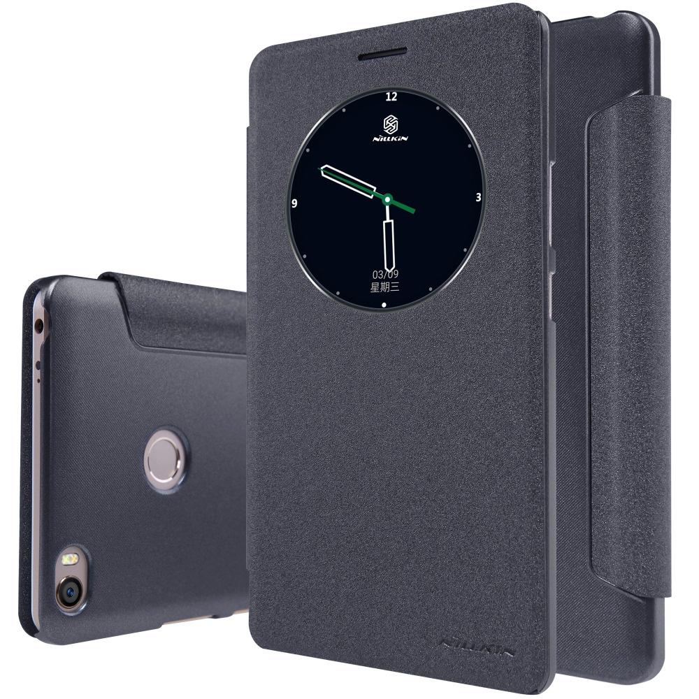 Чехол-книжка NILLKIN Sparkle для Xiaomi Mi MAX (черный) цена