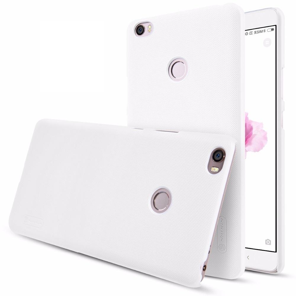 Чехол NILLKIN Frosted для Xiaomi Mi MAX (белый) чехол untamo gel для xiaomi mi max прозрачный ugcximimaxtr