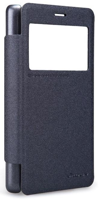 Чехол-книжка NILLKIN Sparkle для Xiaomi Redmi 2 (черный) цена