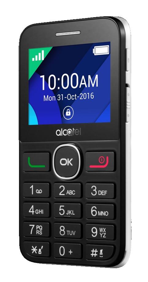Мобильный телефон Alcatel 2008G Black/Pure White