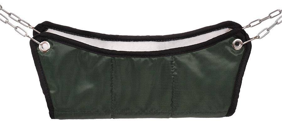 Гамак для грызунов Монморанси хорьков и мелких грызунов, цвет: тёмно-зеленый, 30х30х10 см.