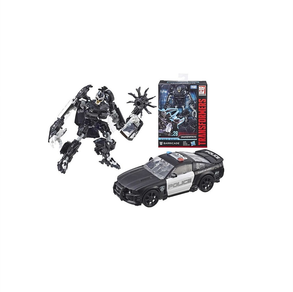 Hasbro Transformers E0701/E3700 Трансформеры Коллекционная фигурка 12 см Баррикейд