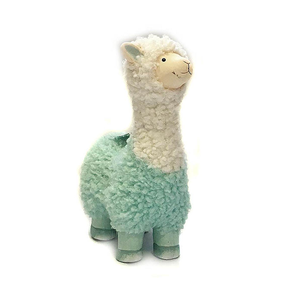Фигурка декоративная Village People Голубая овечка, белый, голубой, 19,5 х 13 х 7,5 см цены онлайн