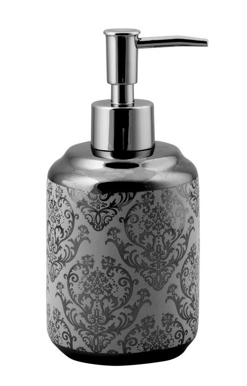 Дозатор жид.мыла DUCALE сильвер, керамика r home диван аделаида сильвер