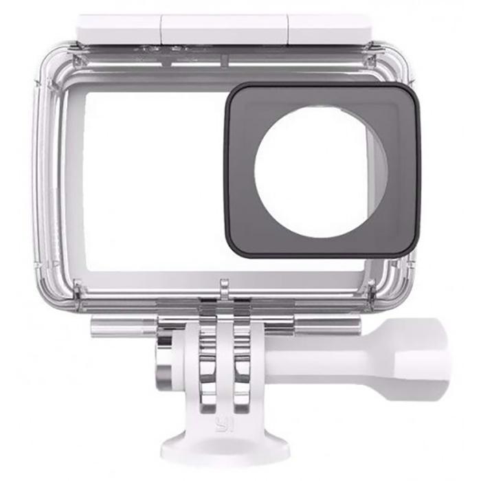 Оригинальный аквабокс для экшн-камеры Xiaomi Yi 4K / 4K+/ YI Lite (white) (Waterproof Case) видеорегистратор yi car