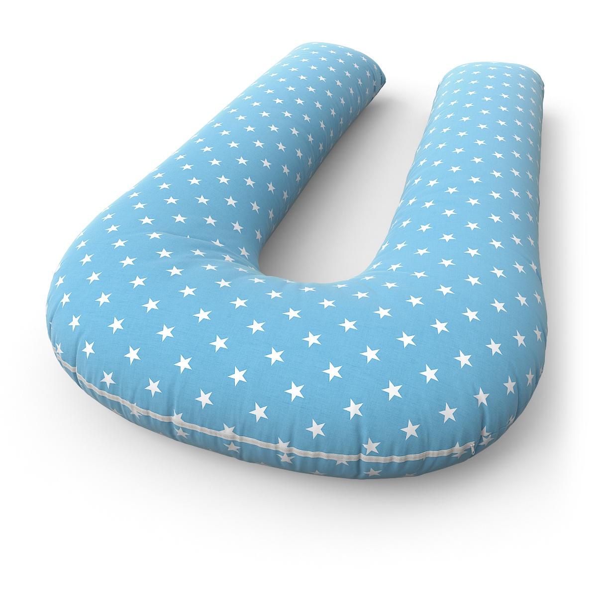 Наволочка Петербургский Уют на подушку для беременных и кормящих формы U Stars Blue