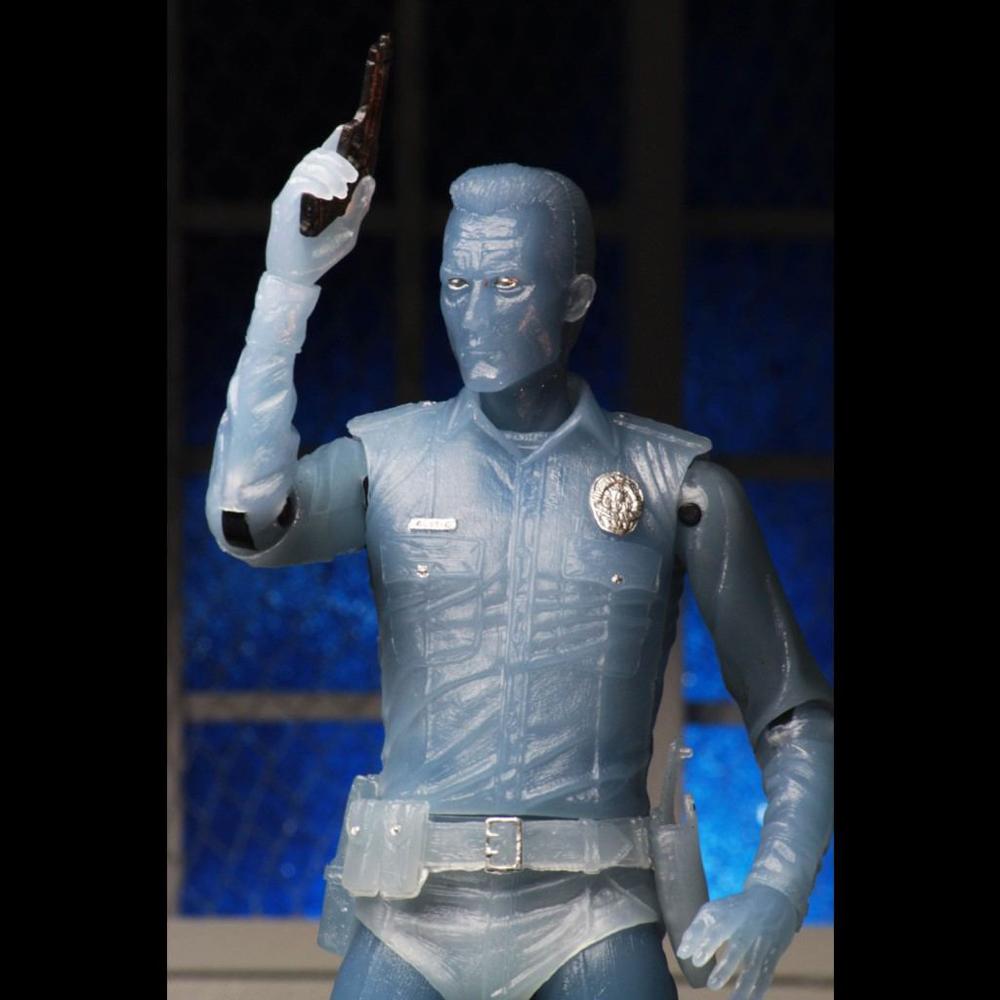 Фигурка Neca 7 Scale Action Figure - White Hot T-1000 Terminator 2