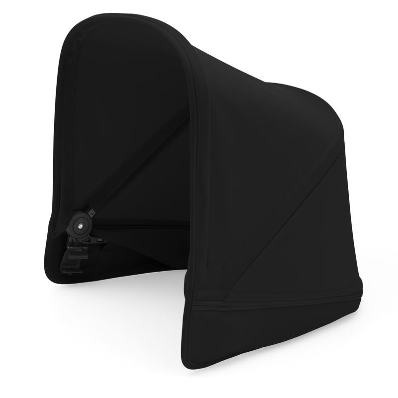 Капюшон сменный для коляски Bugaboo Donkey2 BLACK 180311ZW03