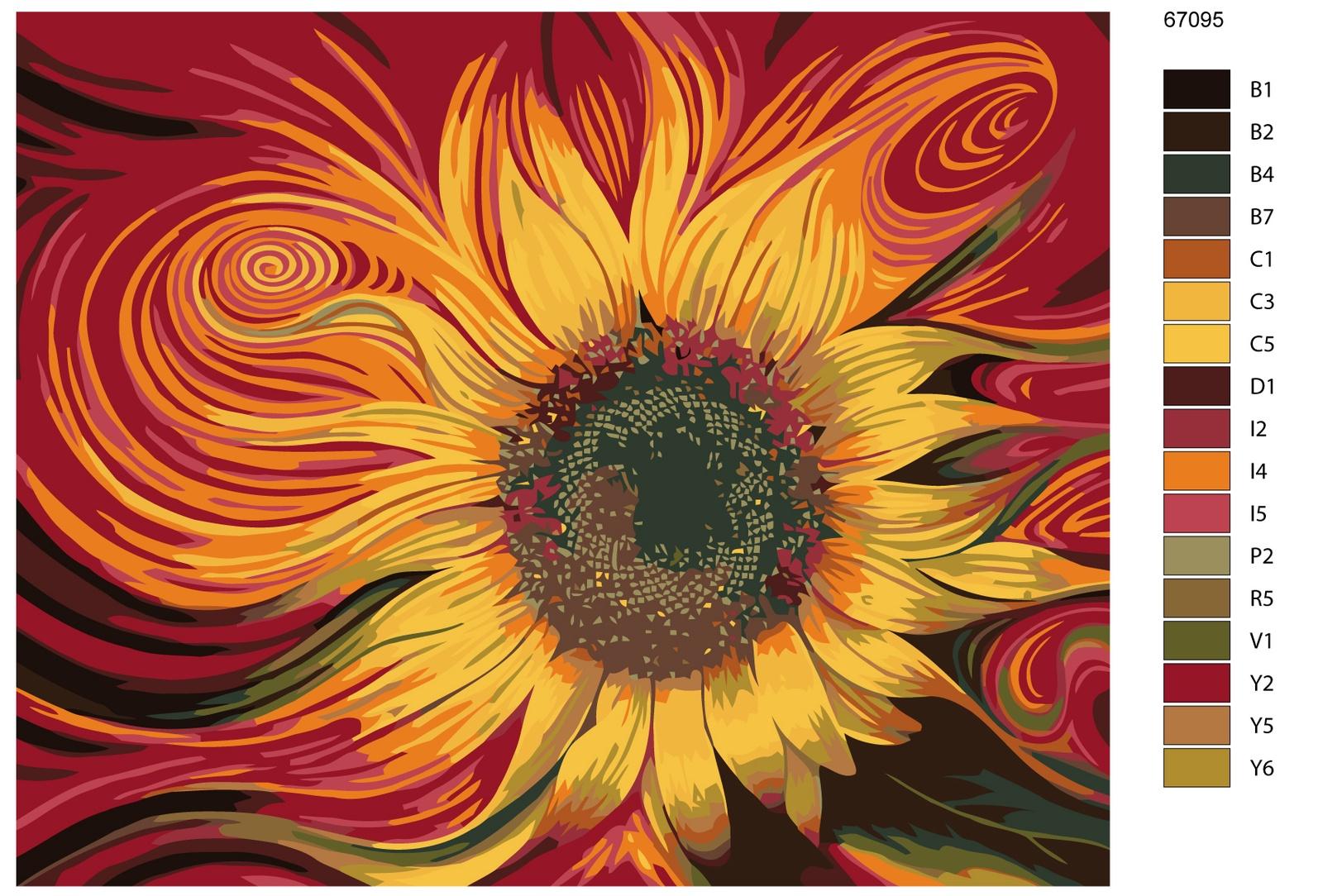 Картина по номерам, 80 x 100 см, KTMK-67095-4