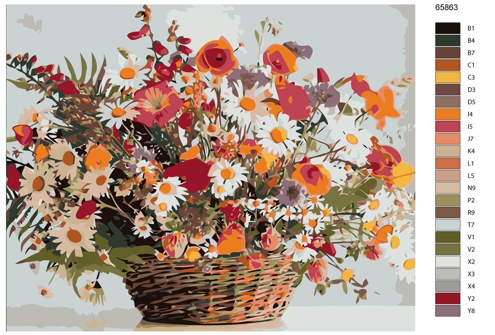 Картина по номерам, 80 x 100 см, KTMK-65863-2
