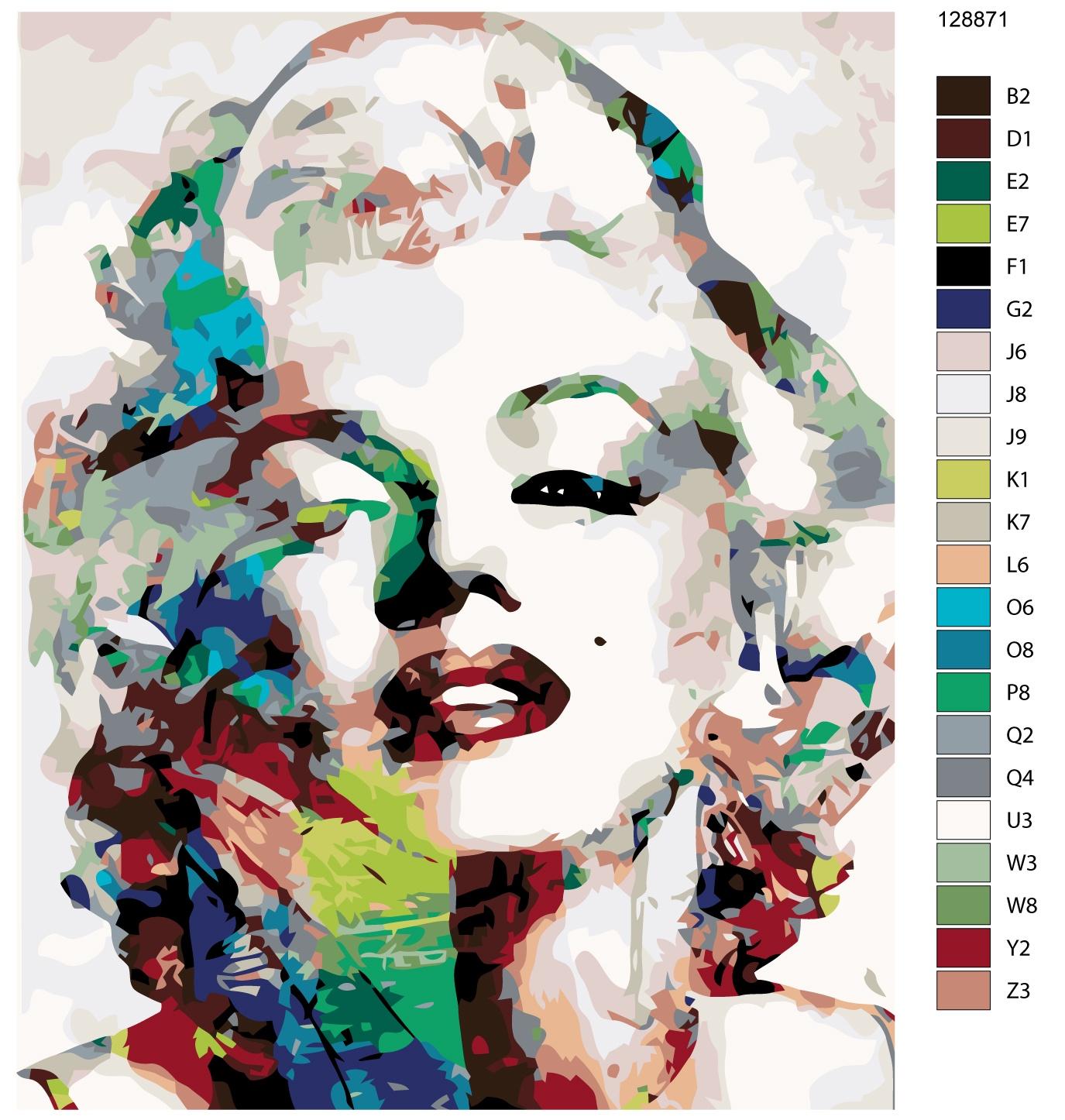 Картина по номерам, 80 x 100 см, KTMK-128871 колготки glamour velour 3 70 den черный
