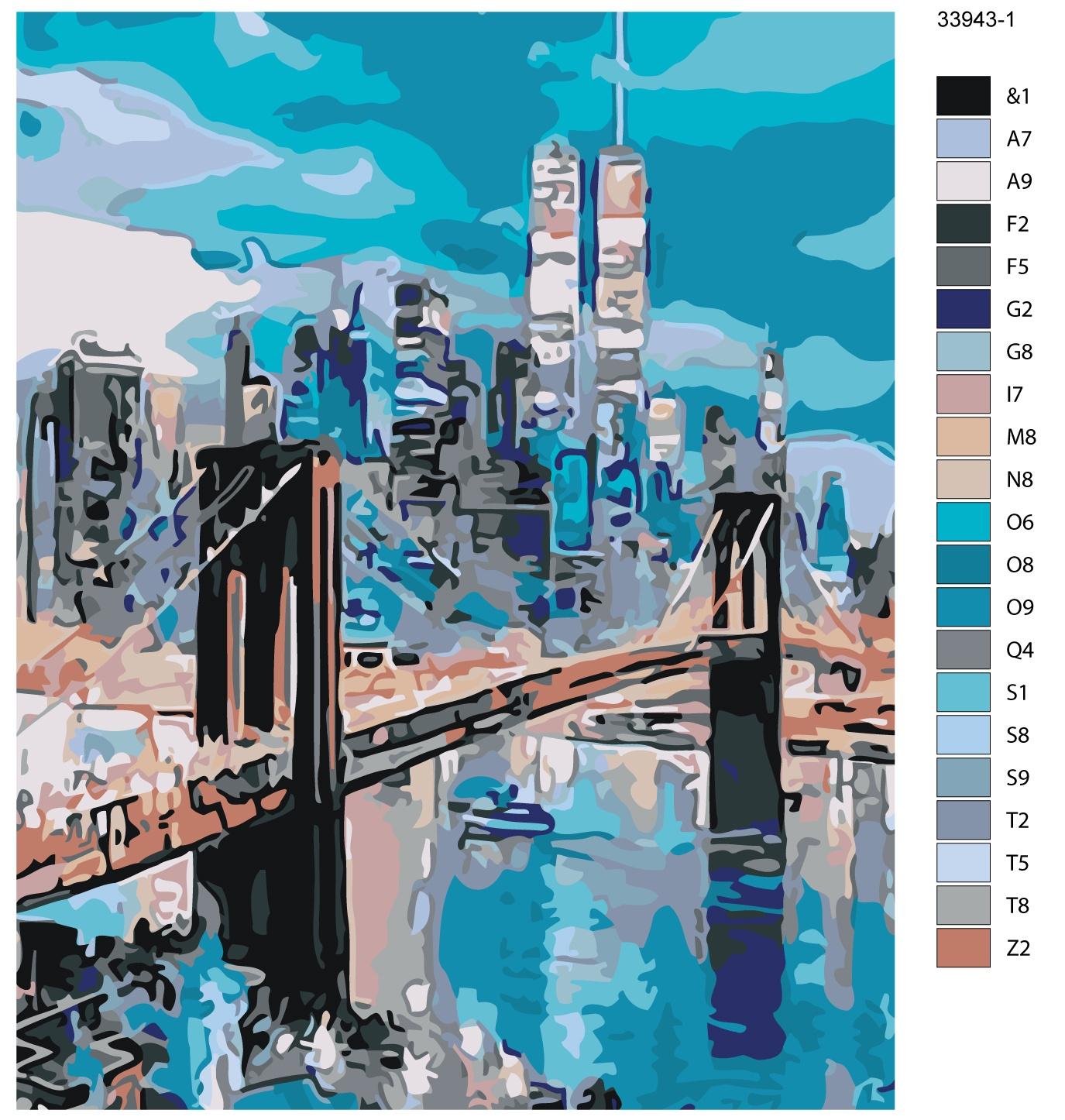 Картина по номерам, 80 x 100 см, KTMK-33943-1