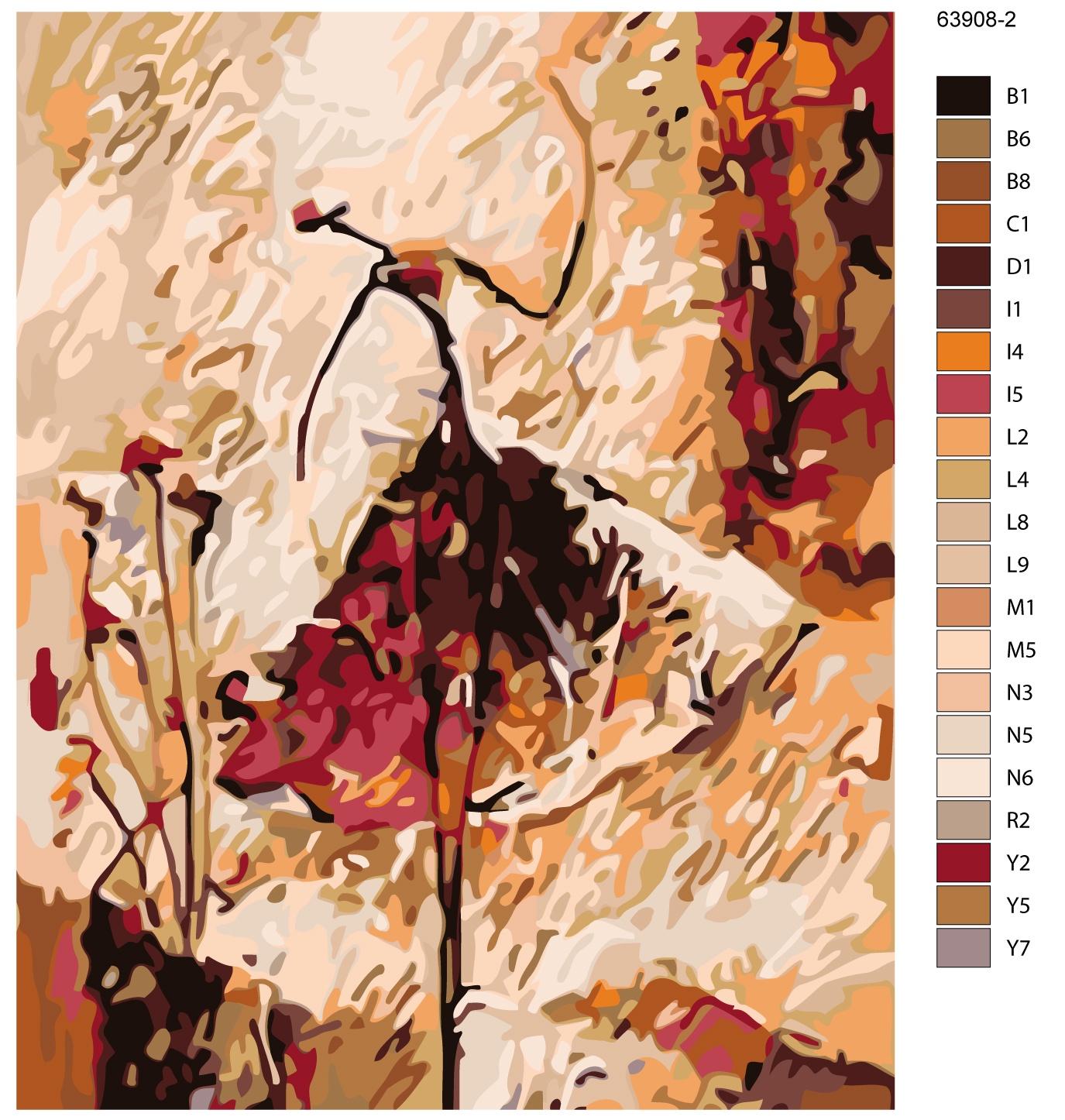 Картина по номерам, 80 x 100 см, KTMK-63908-2