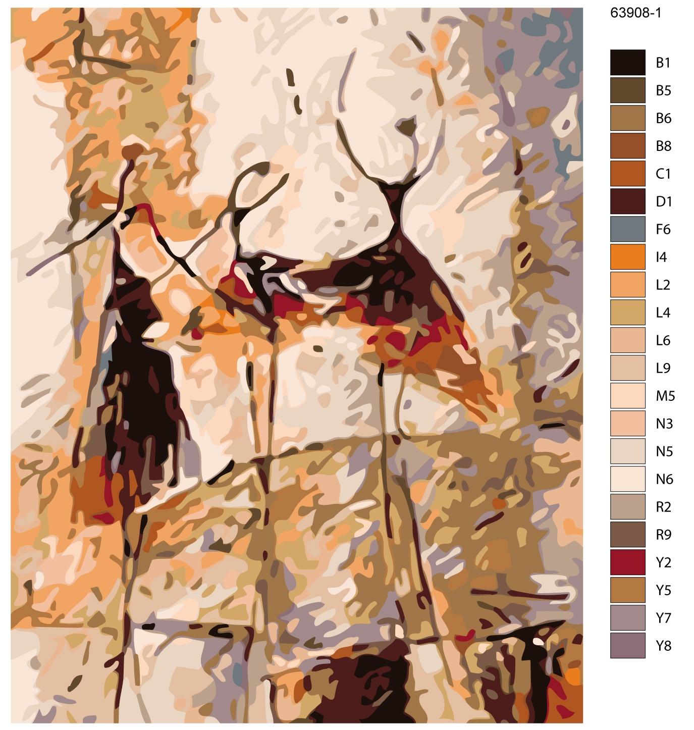 Картина по номерам, 80 x 100 см, KTMK-63908-1