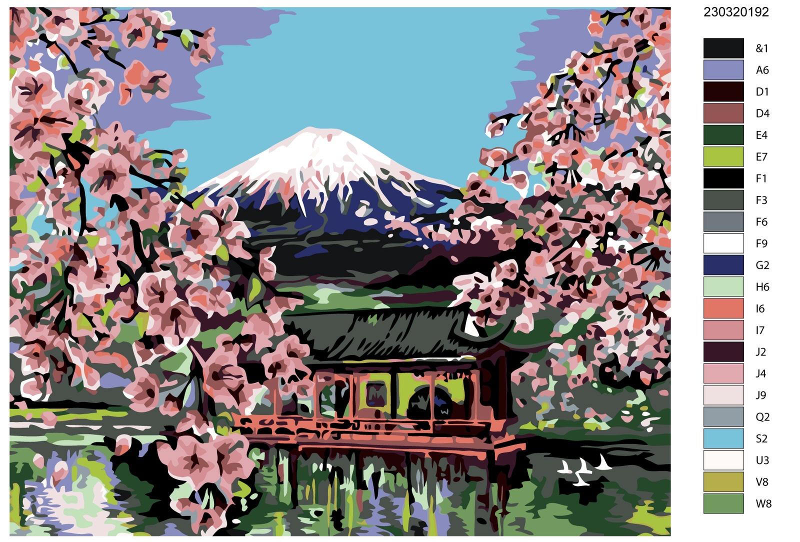 Картина по номерам, 80 x 100 см, AYAY-23032019